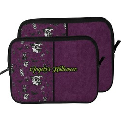 Witches On Halloween Laptop Sleeve / Case (Personalized)