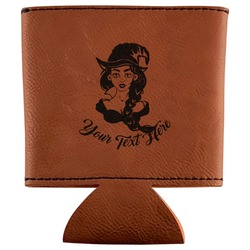 Witches On Halloween Leatherette Can Sleeve (Personalized)