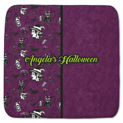 """Witches On Halloween Memory Foam Bath Mat - 48""""x48"""" (Personalized)"""