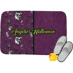Witches On Halloween Memory Foam Bath Mat (Personalized)