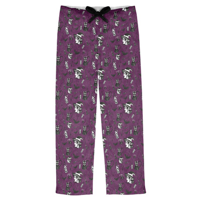 Witches On Halloween Mens Pajama Pants (Personalized)