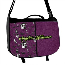 Witches On Halloween Messenger Bag (Personalized)