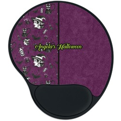 Witches On Halloween Mouse Pad with Wrist Support