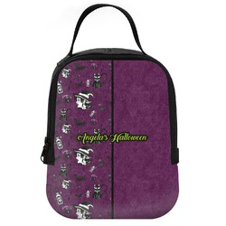 Witches On Halloween Neoprene Lunch Tote (Personalized)