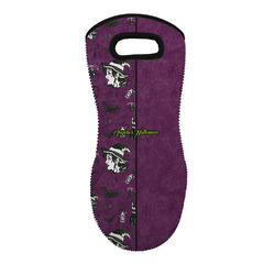 Witches On Halloween Neoprene Oven Mitt - Single w/ Name or Text