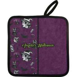 Witches On Halloween Pot Holder (Personalized)