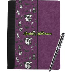 Witches On Halloween Notebook Padfolio (Personalized)