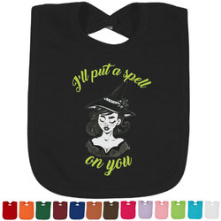 Witches On Halloween Bib - Select Color (Personalized)
