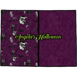 Witches On Halloween Door Mat (Personalized)