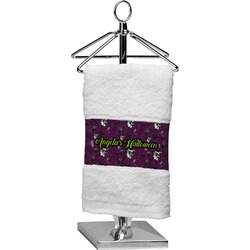 Witches On Halloween Finger Tip Towel (Personalized)