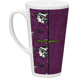 Witches On Halloween Latte Mug (Personalized)