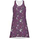 Witches On Halloween Racerback Dress (Personalized)