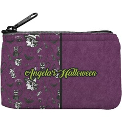 Witches On Halloween Rectangular Coin Purse (Personalized)