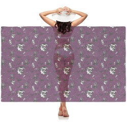 Witches On Halloween Sheer Sarong (Personalized)