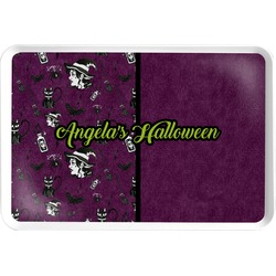Witches On Halloween Serving Tray (Personalized)
