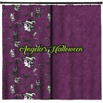 Witches On Halloween Shower Curtain (Personalized)