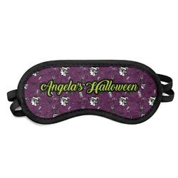 Witches On Halloween Sleeping Eye Mask (Personalized)