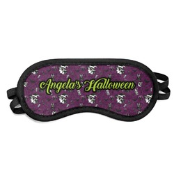 Witches On Halloween Sleeping Eye Mask (Personalized)