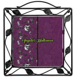 Witches On Halloween Trivet (Personalized)