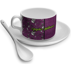 Witches On Halloween Tea Cups (Personalized)