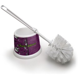 Witches On Halloween Toilet Brush (Personalized)
