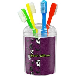 Witches On Halloween Toothbrush Holder (Personalized)