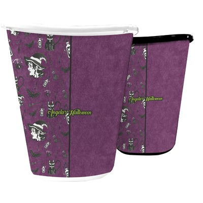 Witches On Halloween Waste Basket (Personalized)