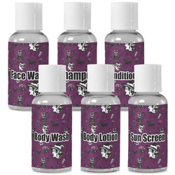 Witches On Halloween Travel Bottles (Personalized)