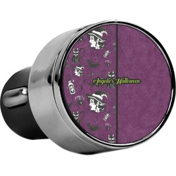 Witches On Halloween USB Car Charger (Personalized)