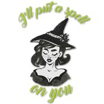 Witches On Halloween Graphic Decal - Custom Sizes (Personalized)