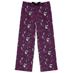 Witches On Halloween Womens Pajama Pants (Personalized)
