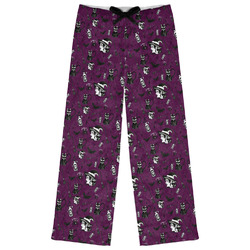 Witches On Halloween Womens Pajama Pants - XL (Personalized)