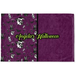 Witches On Halloween Woven Mat (Personalized)