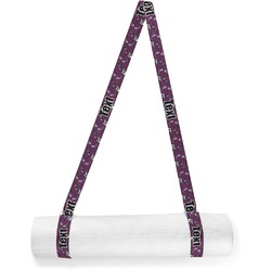 Witches On Halloween Yoga Mat Strap (Personalized)
