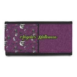 Witches On Halloween Leatherette Ladies Wallet (Personalized)