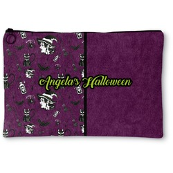 Witches On Halloween Zipper Pouch (Personalized)