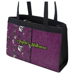 Witches On Halloween Zippered Everyday Tote (Personalized)