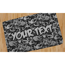 Skulls Area Rug (Personalized)