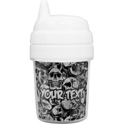 Skulls Baby Sippy Cup (Personalized)