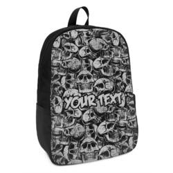 Skulls Kids Backpack (Personalized)