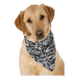 Skulls Pet Bandanas (Personalized)