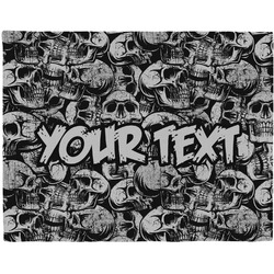 Skulls Placemat (Fabric) (Personalized)