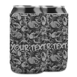 Skulls Can Cooler (12 oz) w/ Name or Text