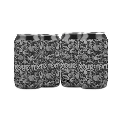 Skulls Can Sleeve (12 oz) (Personalized)