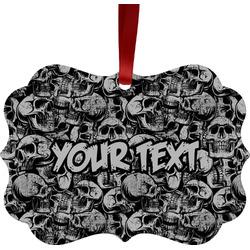 Skulls Ornament (Personalized)