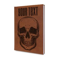 Skulls Leatherette Journal (Personalized)
