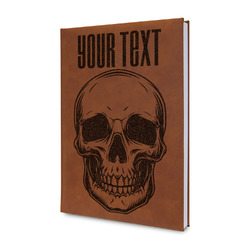 Skulls Leatherette Journal (Personalized)