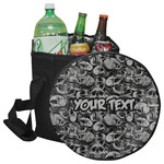 Skulls Collapsible Cooler & Seat (Personalized)