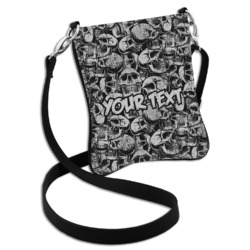 Skulls Cross Body Bag - 2 Sizes (Personalized)