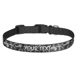 Skulls Dog Collar (Personalized)